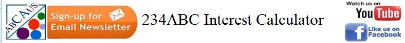 Excel Auto 234ABC Interest calculator