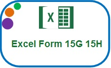 Excel Auto Income Tax Form 15H