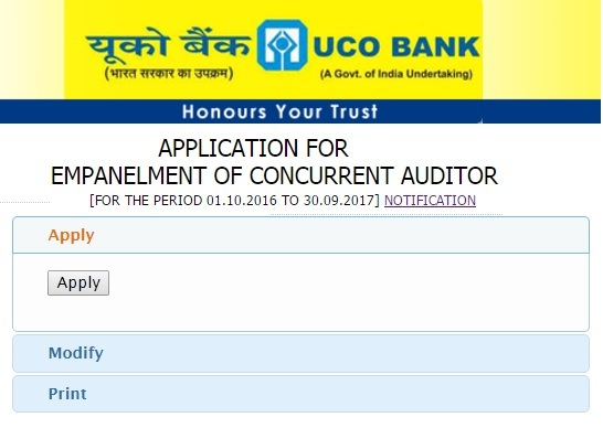 Uco bank concurrent auditor online empanelment 2017 18 uco bank concurrent auditor online empanelment spiritdancerdesigns Images