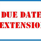 due date extension