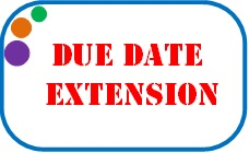 Form 15G-15H filing due date extension