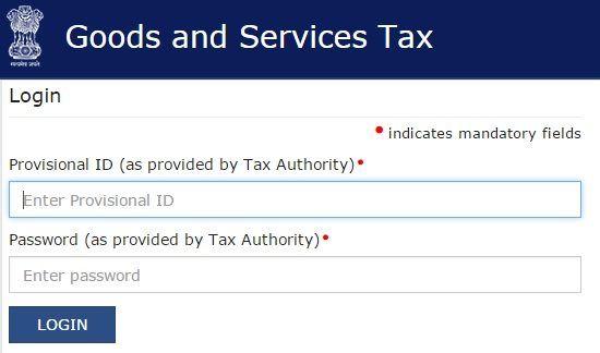 GST Official Website Portal