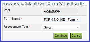 Excel Form 10E-Salary Arrears Relief calculator