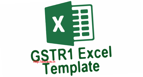 GSTR1 excel template workbook and offline tool download