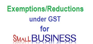 gst-exemptions-small-businesses