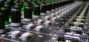 Supplying back ground sound audio