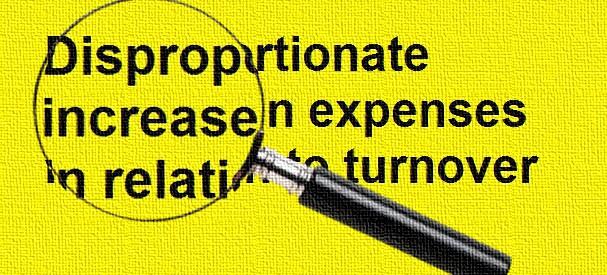 disporpotion-expenses