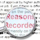 reasons-recorded