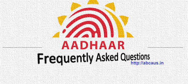 UIDAI releases AADHAAR related eleven Frequently Asked Questions as of 14th January, 2018