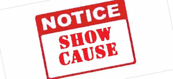 show_cause_notice