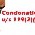 condonation
